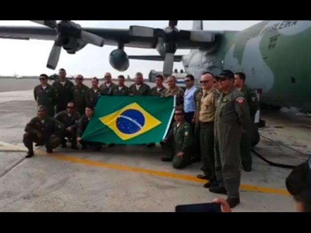 Fuerza Aerea de brasil Envia Ayuda al Perú