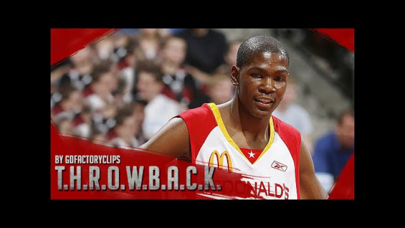 Kevin Durant Full Highlights at 2006 McDonald's All-American Game - 25 Pts, Co-MVP!