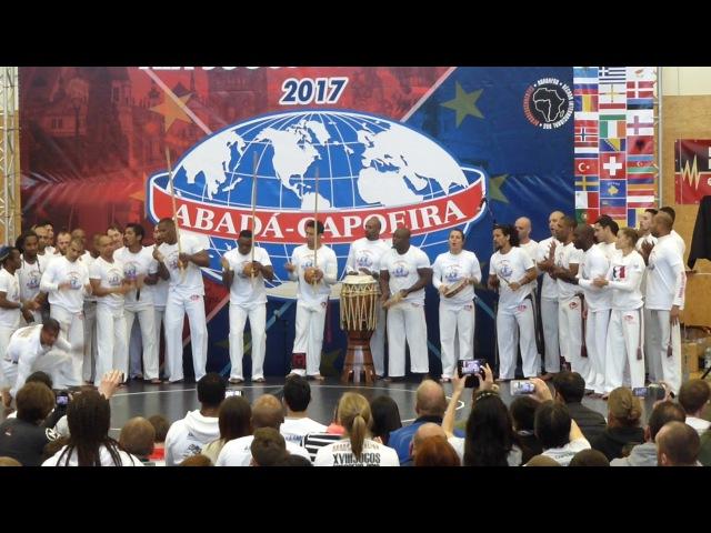 Abertura Dos Jogos Europeus Abadá Capoeira 2017