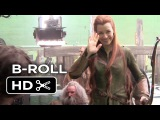 The Hobbit The Battle of the Five Armies B-ROLL 1 (2014) - Evangeline Lilly Movie HD