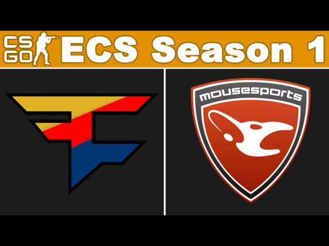 FaZe vs Mousesports - ECS Season 1 - BO3 - map2