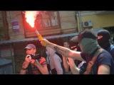 У Кіеве прайшоў Марш роўнасці / Gay Pride parade in Kiev <#Белсат>