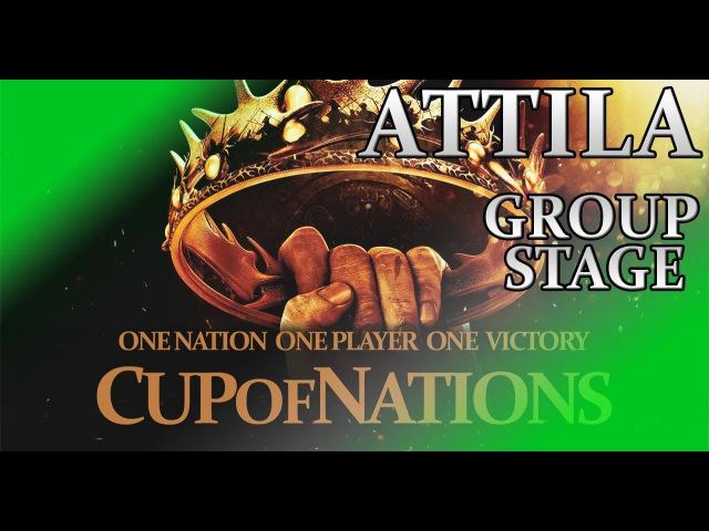 Total War - Attila - Cup of Nations - Group stage 53 - Patronus/VM (ERE) vs Sigurd/VM (Ostrogoths)