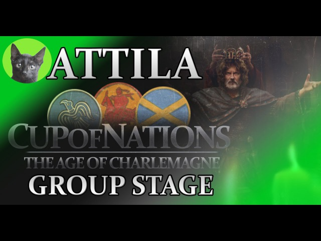 Total War-Attila-CoN(AoC)-Group stage58-YawningFirefly/WOLF(Charlemagne) vs Patronus/VM(Danes)