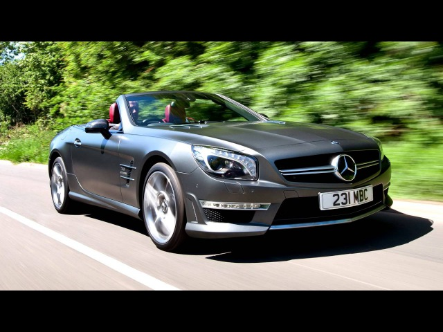 Mercedes Benz SL 63 AMG UK spec R231 '09 2012–