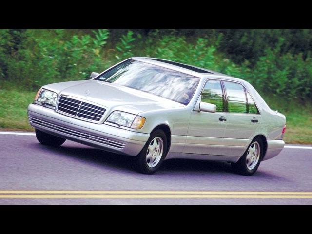 Mercedes Benz S Klasse Limousine Lang US spec V140 '06 1996 09 1998