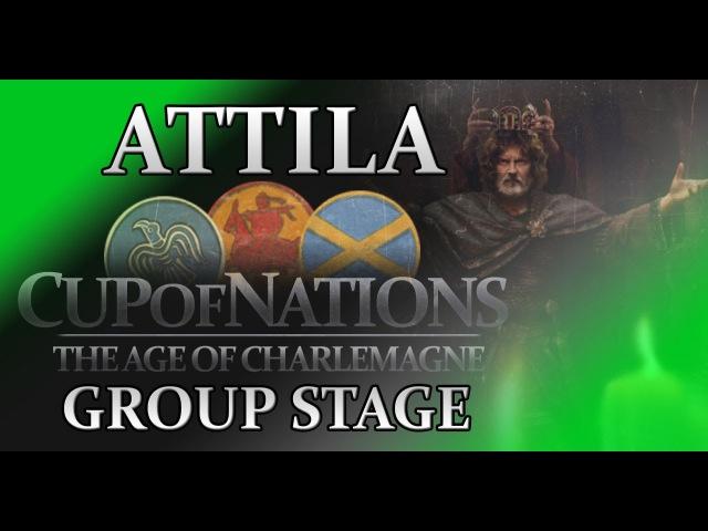 Total War-Attila-CoN(AoC)-Group stage34-SogekLeg I Ita (Charlemagne) vs SigurdVM (Westphalia)