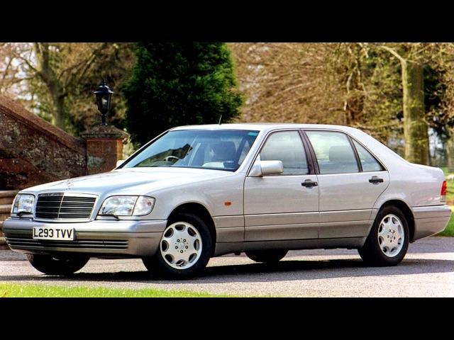 Mercedes Benz S Klasse Limousine Lang UK spec V140 '03 1994 06 1996