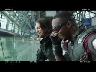 Первый Мститель: Противостояние (2016) Неудачные дубли видео со съмок HD
