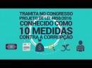 10 medidas em xeque Pelo fim da corrupção sem perdas de direitos