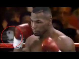 Путешественник во времени снял бой Майка Тайсона на смартфон в 1995 году