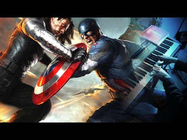 CAPTAIN AMERICA THE WINTER SOLDIER End Of The Line Piano Solo Sheets Download