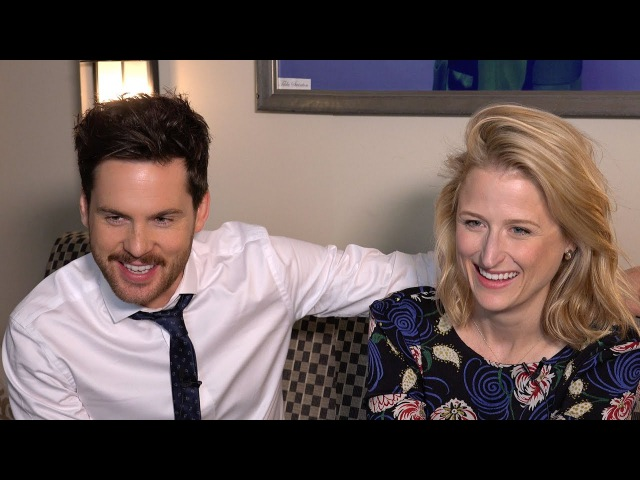 The Collection's Tom Riley Mamie Gummer