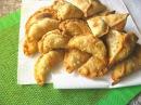 ДОМАШНЯЯ САМБУСА SAMBOUSA HOMEMADE Арабские хрустящие жареные пирожки с мясом и с овощами