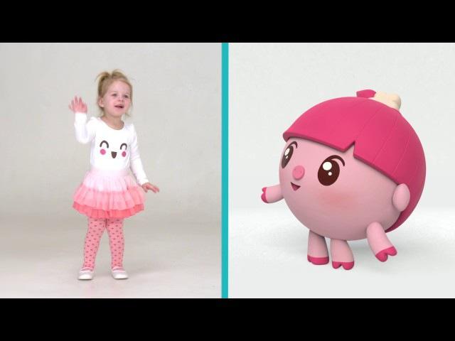 Малышарики - Разминка   Умные песенки для самых маленьких от года