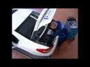 Как снять задний бампер Mercedes-Benz CLS W218 Removing the rear bumper
