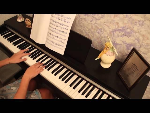 Микаэл Таривердиев - Снег над Ленинградом (фортепиано, пианино)