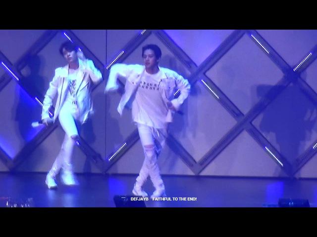160903 JYPN IN TOKYO - YO MORIAGATTE YO (GOT7 JB)