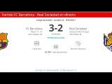 Обзор матча: Ла-Лига. 32-й тур. Барселона - Реал Сосьедад 3:2 HD 15.04.2017