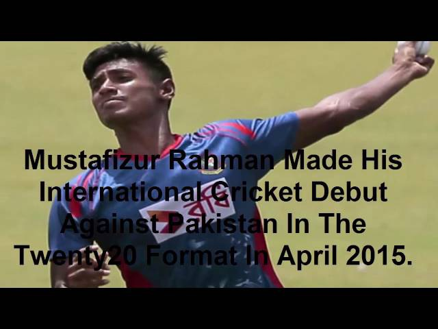 Mustafizur Rahman The Cutter Master.