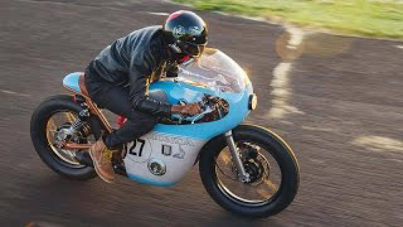Amazing Honda CB550 Cafe Racer by Little Horse Cycles