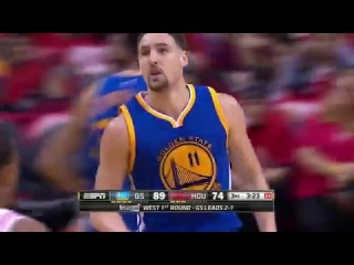 Golden State Warriors vs Houston Rockets | Game 4 | Full Highlights | April 24, 2016 | NBA Playoffs