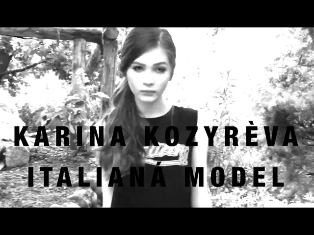 KARINA KOZYREVA ITALIANO MODEL 2016 WMW FASHION FILM REEL