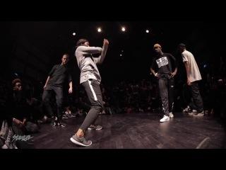 Waydi (Criminalz) Dypa vs Junior Sam Yudat NBA Dance Battle at STRITER 2K17 - FINAL