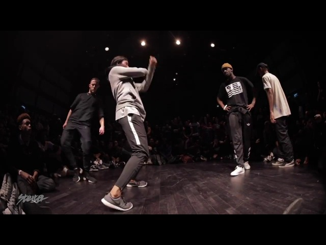 Waydi (Criminalz) Dypa vs Junior Sam Yudat NBA Dance Battle at STRITER 2K17 - FINAL
