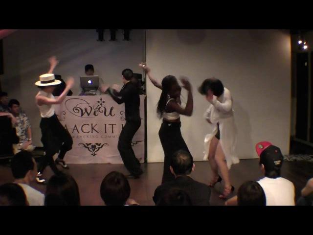 Waacking Show (Tokyo)Princess Madoki; Mizuki flamingo; JUNKOO; 小幸 Jam Session International vol 4