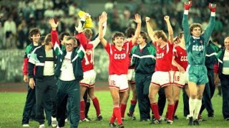 Футбол, СССР - Бразилия, финал Олимпийских игр 1988 года (лучшие моменты матча)