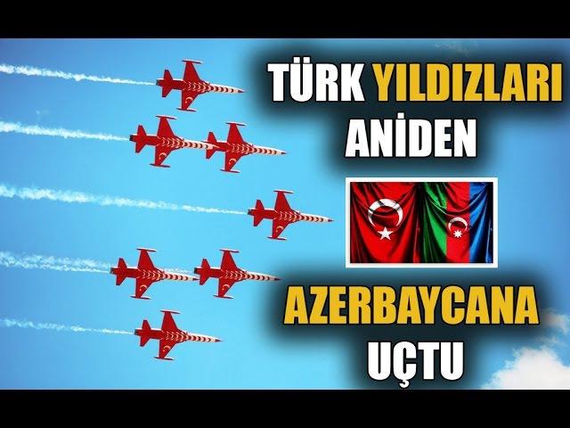 Azerbaycan TEHDİT Edilince APAR TOPAR Azerbaycana Giden TÜRK JETLERİ