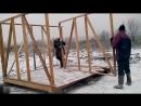 02 - Изготовление и установка каркасных стен / Бытовка своими руками