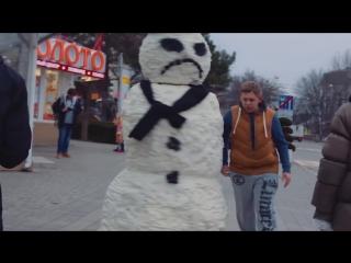 Страшный Снеговик Пранк ¦ Scary Snowman Prank