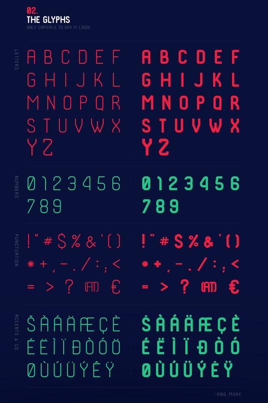 SHKODER 1989 шрифт скачать бесплатно