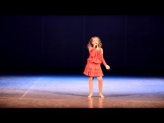 Кропотова Анна с песней «Город мечты» конкурс