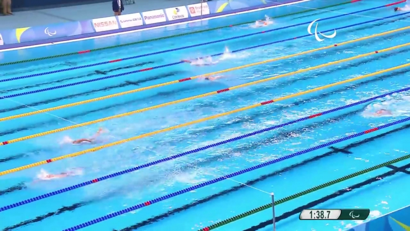 Swimming _ Mixed 4x50m Freestyle Relay 20points final _ Rio 2016 Paralympic Game