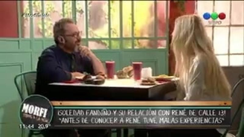 Соледад рассказывает об отношениях с Рене [Morfi, todos a la mesa]