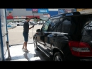 Мойка автомобиля Mercedes GLK с помощью программы нанесение активной пены
