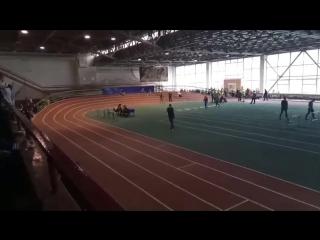 забег на 200м (2002-2003 г.р юноши) Казаков Александр