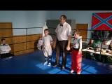 Калашников Андрей - Лосенко Александр раздел кик-лайт до 28 кг.