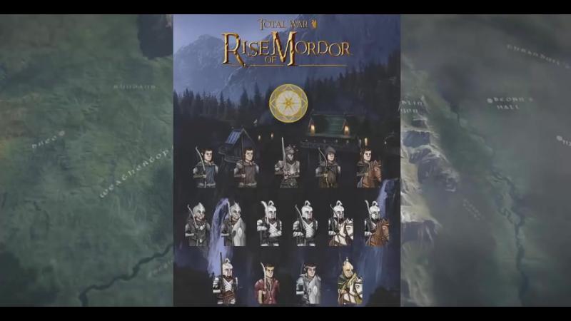 Rise of Mordor׃ обзор фракции Elves of Imladris