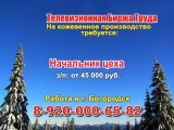 19 января_08.30_Работа в Нижнем Новгороде_Телевизионная Биржа Труда