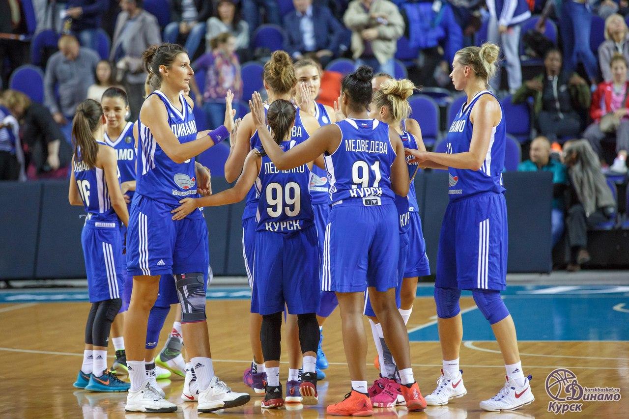 Баскетболистки «Динамо» (Курск) переиграли оренбургскую «Надежду» вчемпионате Российской Федерации