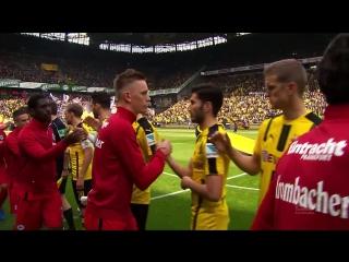 All Goals between Dortmund and Frankfurt on Matchday 29 - Reus, Aubameyang  Co.