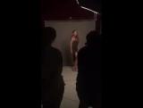 Тина Кароль на фотосессии для вокального проекта