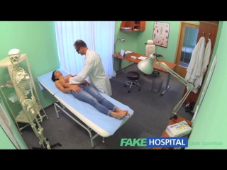 Doctor sexually sets patients fears to rest that her tits / FakeHospital / Fake Hospital / Фальшивый госпиталь