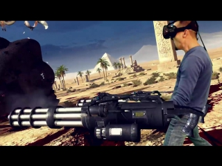 Serious Sam VR- The Last Hope - Early Access Trailer
