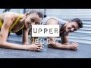 Отличная тренировка для накачки груди, придания формы мышцам живота и тонуса ва