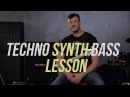 Techno-flavored Synth Bass Lesson - Bass Camp